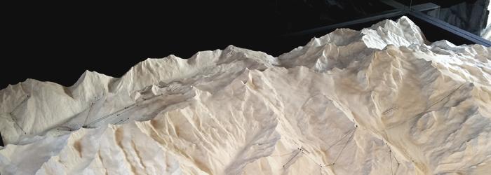 Landschafts-Relief