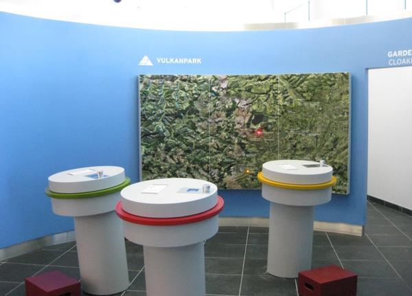 Reliefkarte Vulkanpark