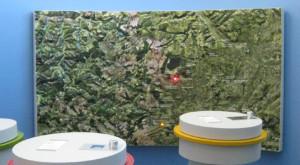 Vulkanpark Reliefkarte